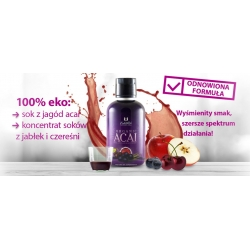 Organic Acai with Apple and Black Cherry 473 ml